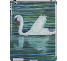 White swan iPad Case/Skin