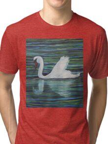 White swan Tri-blend T-Shirt