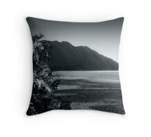 View of Maggiore Lake Throw Pillow