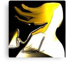 Ein blonder Engel Canvas Print