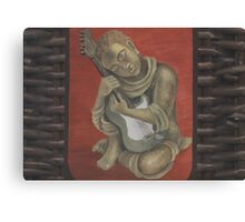 Basket Buddha Canvas Print