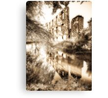 Last wall standing Canvas Print