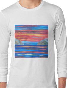 Sunset in Patmos Long Sleeve T-Shirt