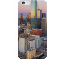 Dallas Skyline Sunset iPhone Case/Skin