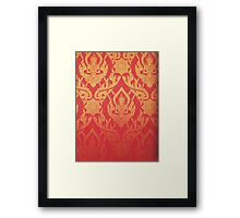 Thai paper Framed Print