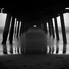 Under the Jetty (Henley Beach) by Darryl Leach