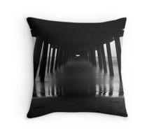 Under the Jetty (Henley Beach) Throw Pillow