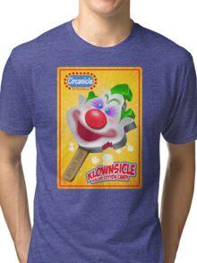 Killer Klown Popsicle Tri-blend T-Shirt