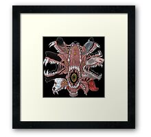 30 YARD GRIN Framed Print