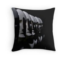 White War Throw Pillow