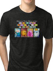 Character Select Tri-blend T-Shirt