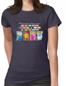 Character Select Womens Fitted T-Shirt