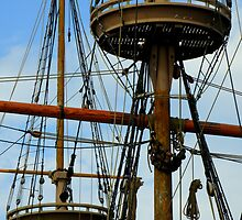 Jamestown Settlement Ships ~ Part One by artisandelimage