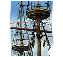 Jamestown Settlement Ships ~ Part One Poster
