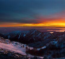 Light on the horison by Ivan Coric
