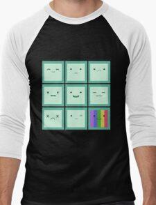 Emoticon Men's Baseball ¾ T-Shirt