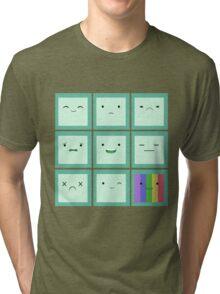 Emoticon Tri-blend T-Shirt