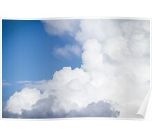 Sky and Clouds 2 Poster