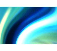 rivers of blue Photographic Print