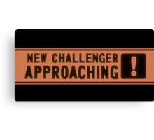 Challenger Aproaching Canvas Print