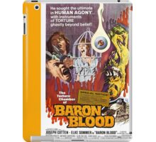 Baron Blood (Yellow) iPad Case/Skin