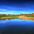 Golf Course Reflection by NikonLarry