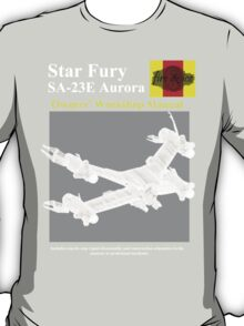 star fury owners manual T-Shirt
