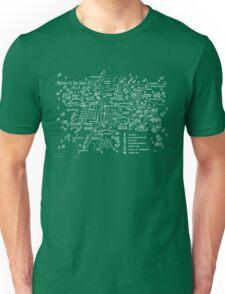 Twin Peaks (Dark Background) Unisex T-Shirt