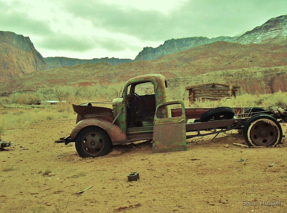 Rusty Truck by Susan Russell