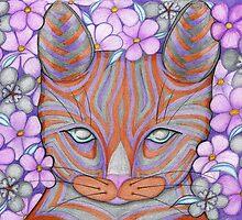 Flower Cat by fesseldreg