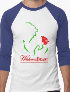 Widow and the Beast Men's Baseball ¾ T-Shirt