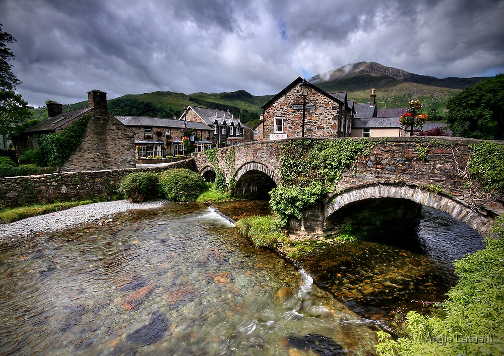Wales: Beddgelert by Angie Latham