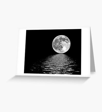 Moon~Shine Greeting Card