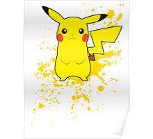 Pikachu - Super Smash Bros Poster