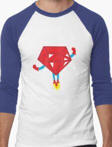 Ruby power Men's Baseball ¾ T-Shirt