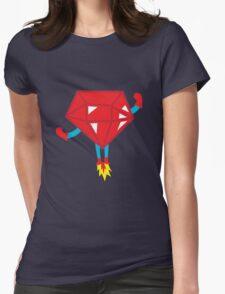 Ruby power Womens Fitted T-Shirt