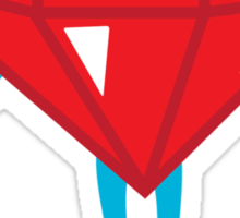 Ruby power Sticker