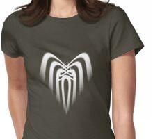 Cascading Heart  Womens Fitted T-Shirt