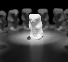 Gummy Bear Photography - He is the ONE by michalfanta