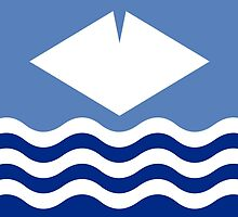 Flag of the Isle of Wight  by abbeyz71