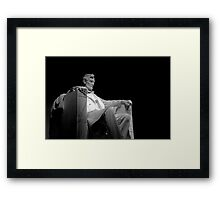 ~Lincoln by Night~ Framed Print