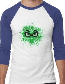 Turf War- Team Green Men's Baseball ¾ T-Shirt