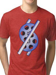 The 50 Fifty Reel Logo Tri-blend T-Shirt