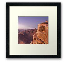 Mt. Sinai Summit of Egypt Framed Print