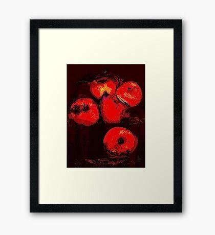 fruit still life.... Framed Print