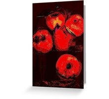 fruit still life.... Greeting Card