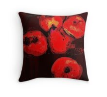 fruit still life.... Throw Pillow