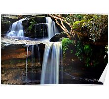 North Narrabeen Waterfalls Poster