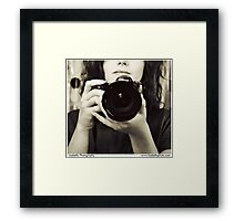 I Fancy Me Some Photography Framed Print