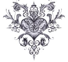 Filigree Love by ClaireEArtwork